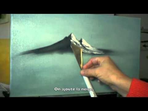 Naissance D Une Montagne Youtube Peintures De Montagne