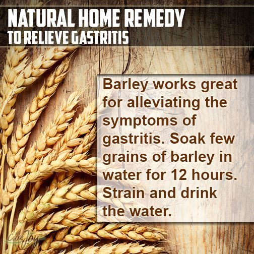 Natural Home Remedy to Relieve Gastritis   Natural Healing