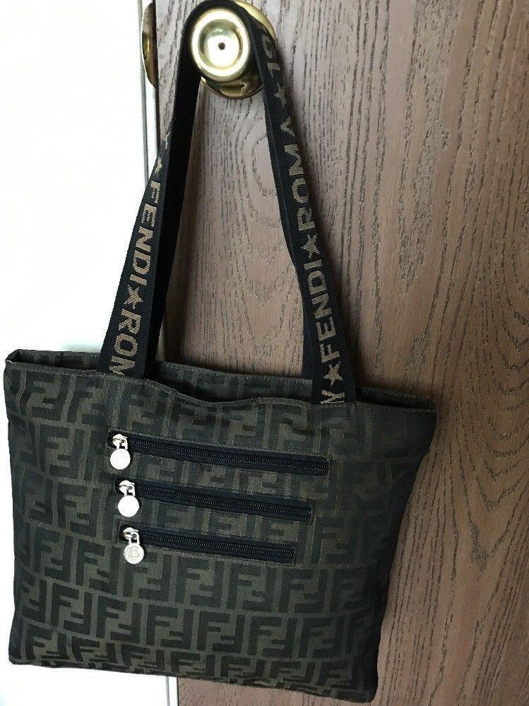 fc2154954780 Fendi Roma 1925 Vintage Handbag