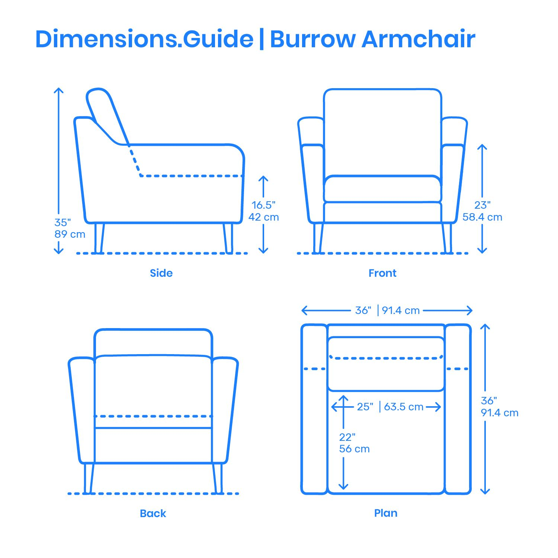 The Burrow Armchair is part of the modular modern ...