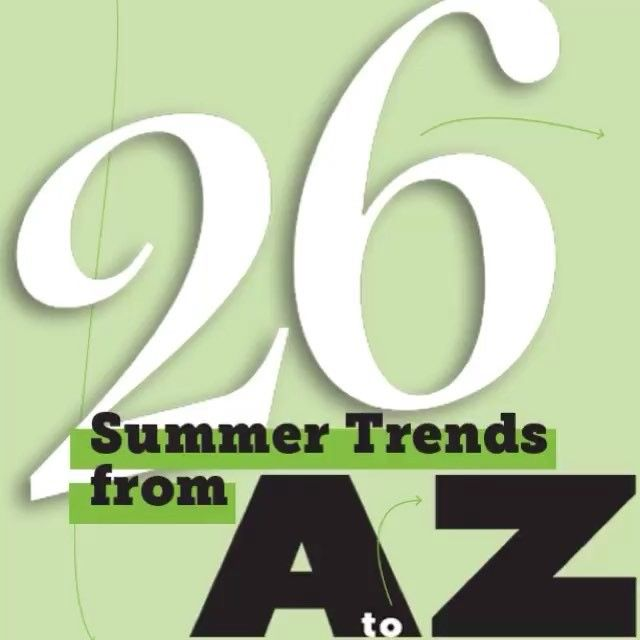"A snippet of #SummerTrends from our #July issue! Our Fashion & Beauty Writer @angienaomi1 says: ""This season offers a variety of items that range from bright and bold to polished and pared-down. If you are having trouble deciding what to add to your wardrobe, consult our A to Z guide. With over 60 exciting pieces, there's a little something for everyone."" #Style #Fashion #Fashiongram #OOTD #Summer #Shopping #Trends"