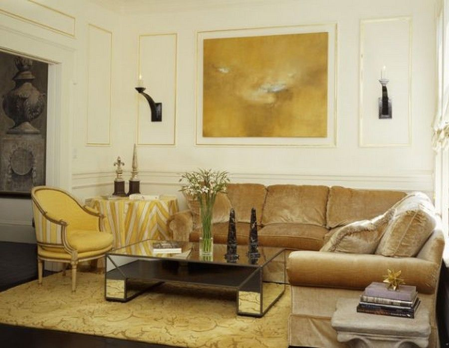 wall colors for gold sofa Google Search REHAB Pinterest