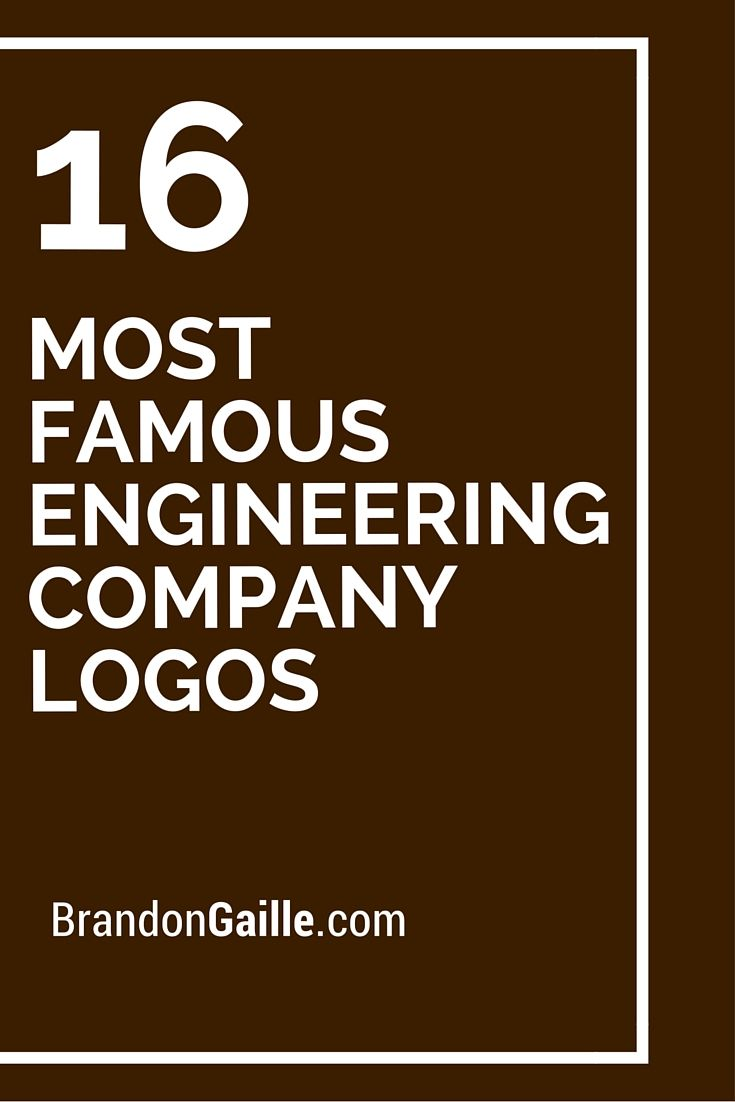 16 Most Famous Engineering Company Logos | Logos and Names