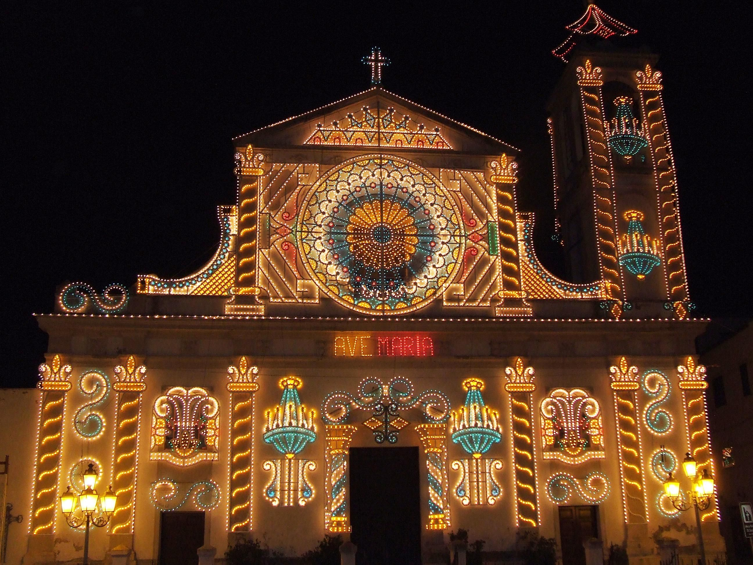 Christmas In Italy Decorations.Cianciana In Sicily And Its Folk Christmas Christmas In