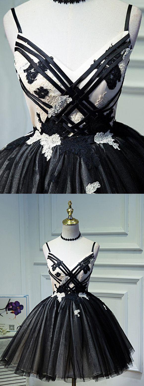Short Mini Party Dresses, Black Mini Prom Dresses, Mini Short Prom ...