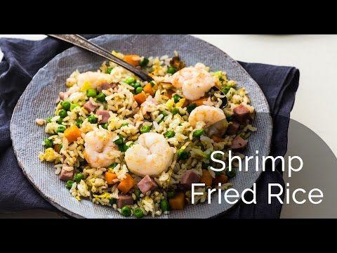 How to make shrimp fried rice recipe yang zhou chao fan how to make shrimp fried rice recipe yang zhou chao fan ccuart Image collections