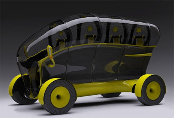 These concept cars offer cool designs and wacky features