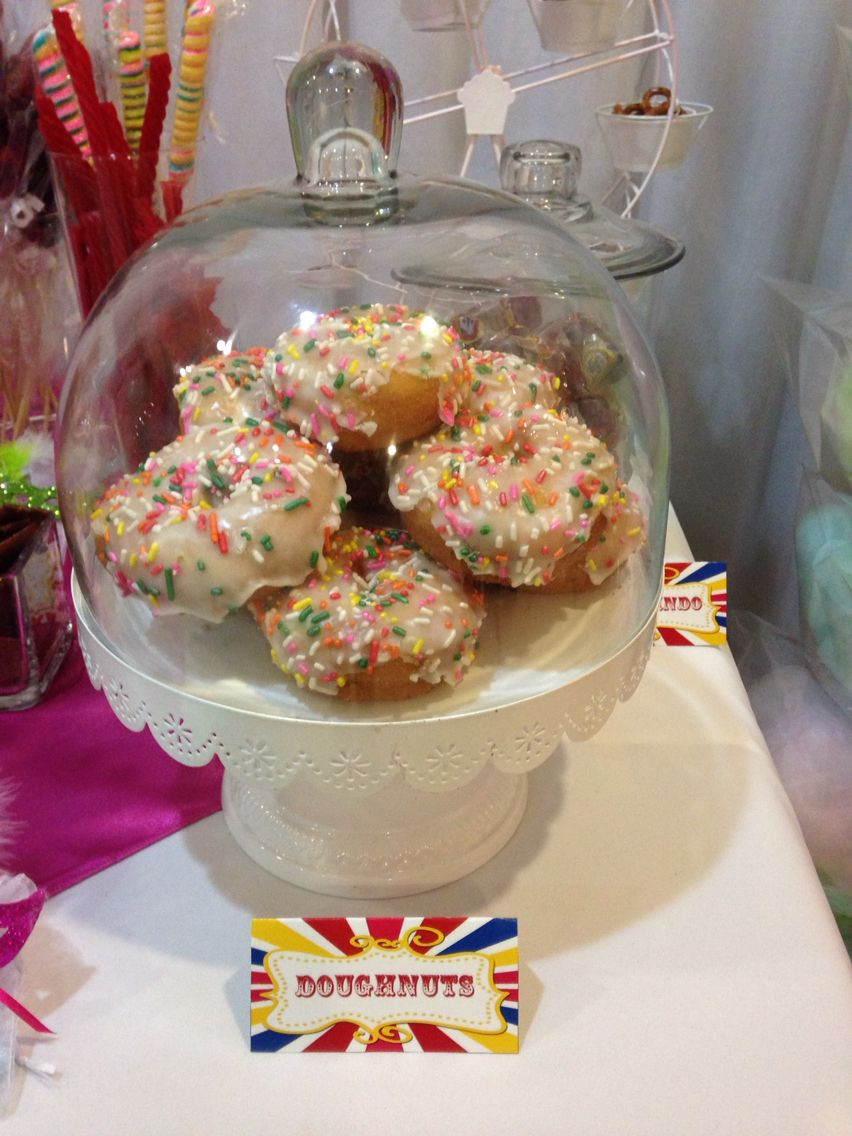 Carnaval Candy Table Doughnuts