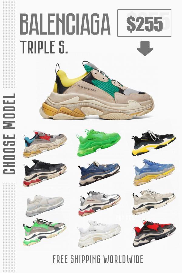 Trendy kicks Balenciaga Triple S