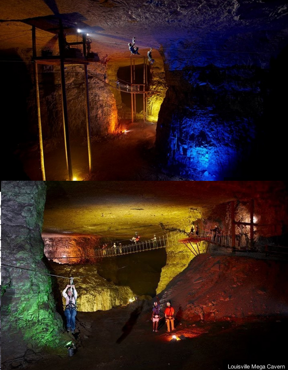 Go Zip Lining Underground Kentucky Travel Kentucky Vacation Places To Travel