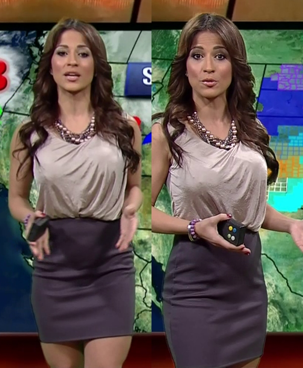 Jackie Guerrido - Univision Weather Woman   hot weather! | TV Shows