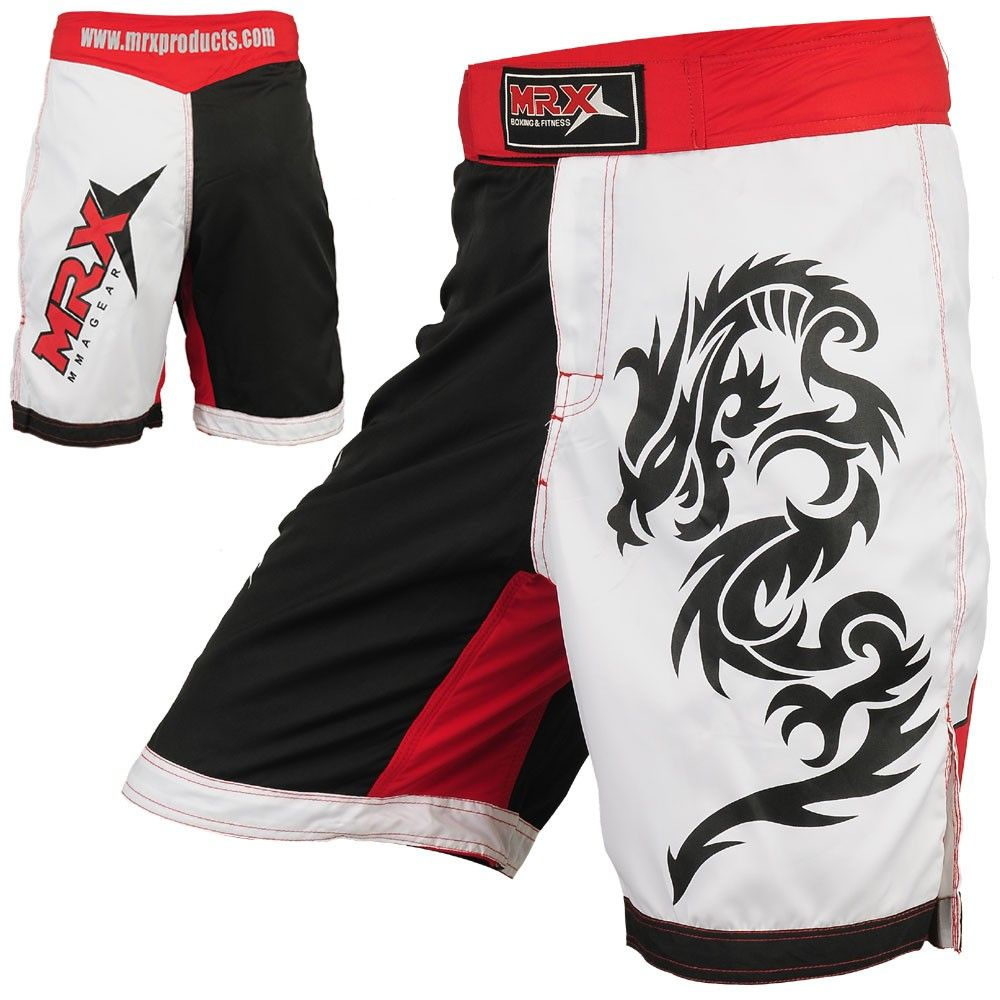MMA Shorts Grappling UFC Boxing Muay Thai Mens Cage Fight Trunks Kick Men MRX