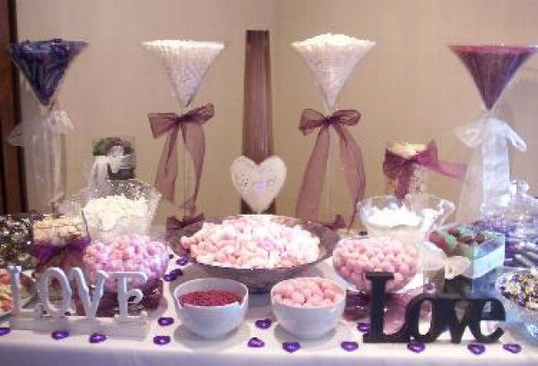 Pin By Roberta Lucero On Candy Bars Wedding Candy Table Candy Bar Wedding Sweets Table Wedding