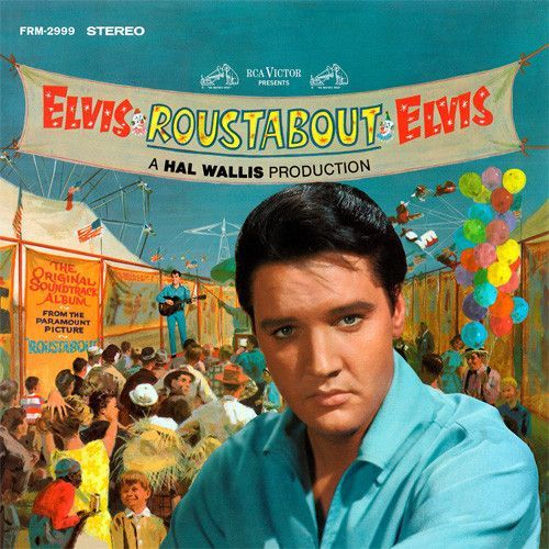 Elvis Presley - Roustabout Soundtrack on Colored 180g LP August 19 2016