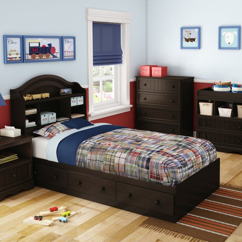 Savannah Twin Mate\u0027s  Captain\u0027s Bed with 3 Drawers in 2018 Home