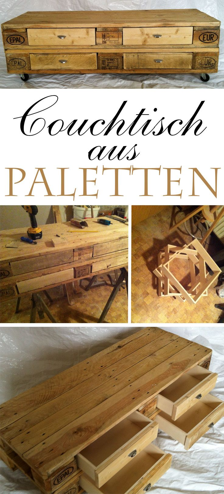 userprojekt wohnen deko couchtisch aus paletten. Black Bedroom Furniture Sets. Home Design Ideas
