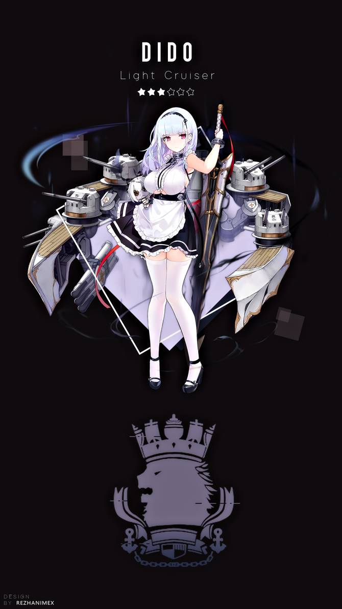 Dido Wallpaper Android Azur Lane By Achzatrafscarlet On Deviantart In Digital Art Anime Android Wallpaper Cute Anime Character