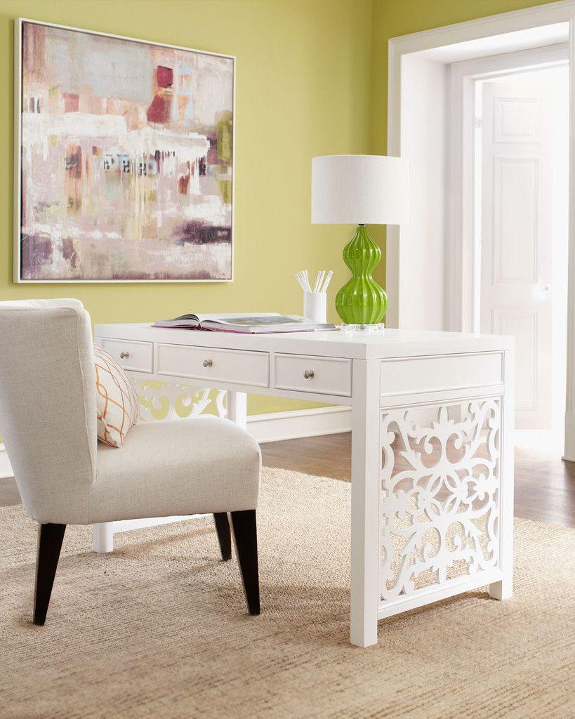 white brocade writing desk in 2019