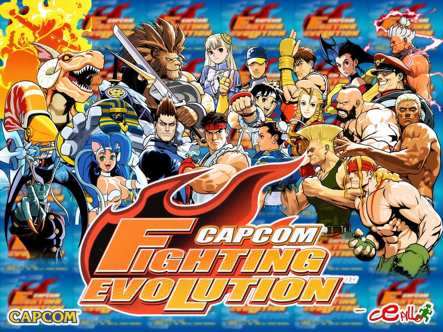 Capcom Fighting Evolution Wallpaper By Cepillo16 Deviantart Com On Deviantart Mortal Kombat Characters Capcom Comic Book Cover
