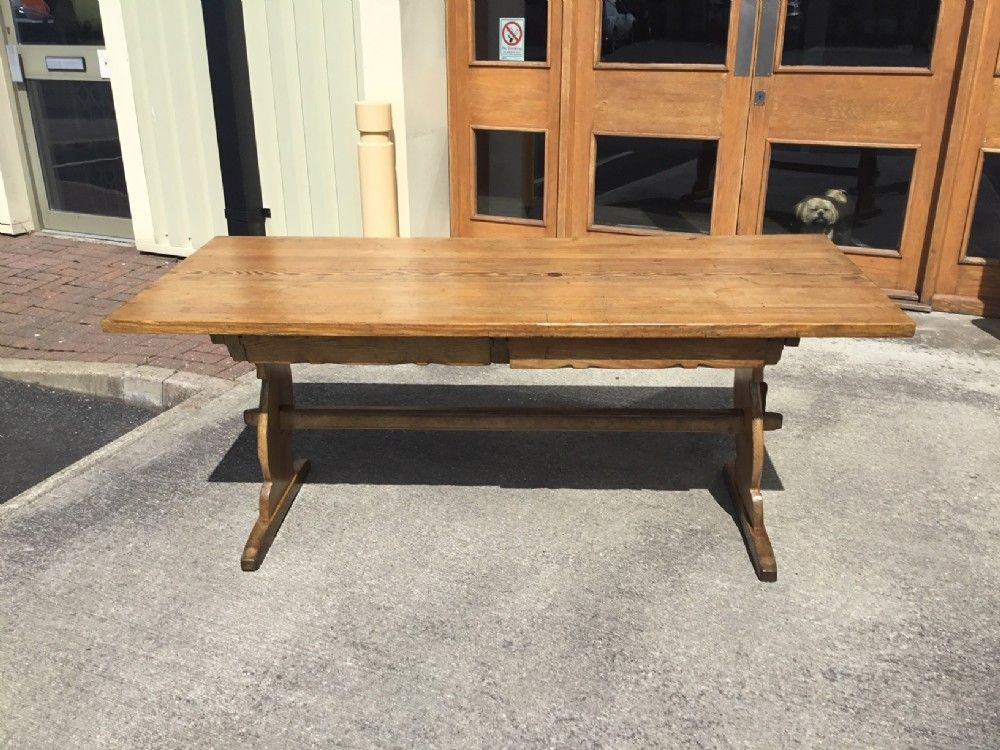 A 6ft 19th century pine antique farmhouse table antique