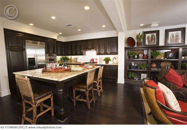 Inspiration Help Espresso Cabinets With Dark Wood Floors