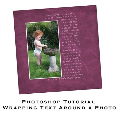 How to wrap text- tute