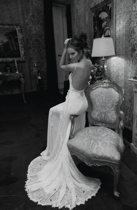 Do you like a wedding gown with a sexy back? See more of Inbal Dror Wedding Couture on Fashion Style Magazine!