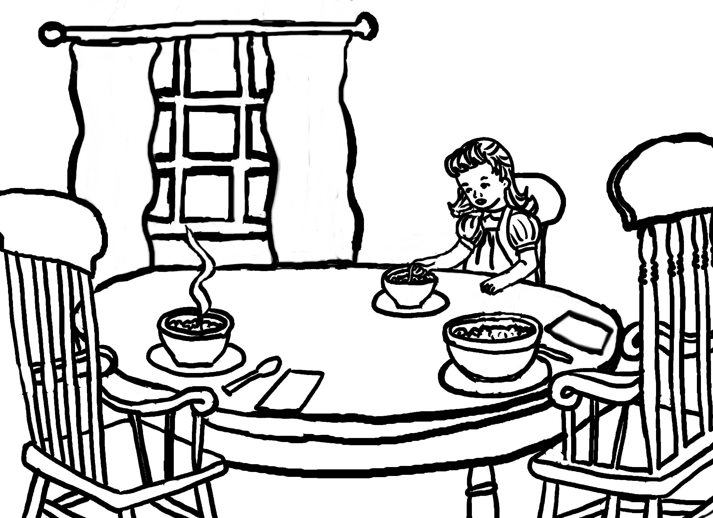 Story Time Crafts Coloring Pages