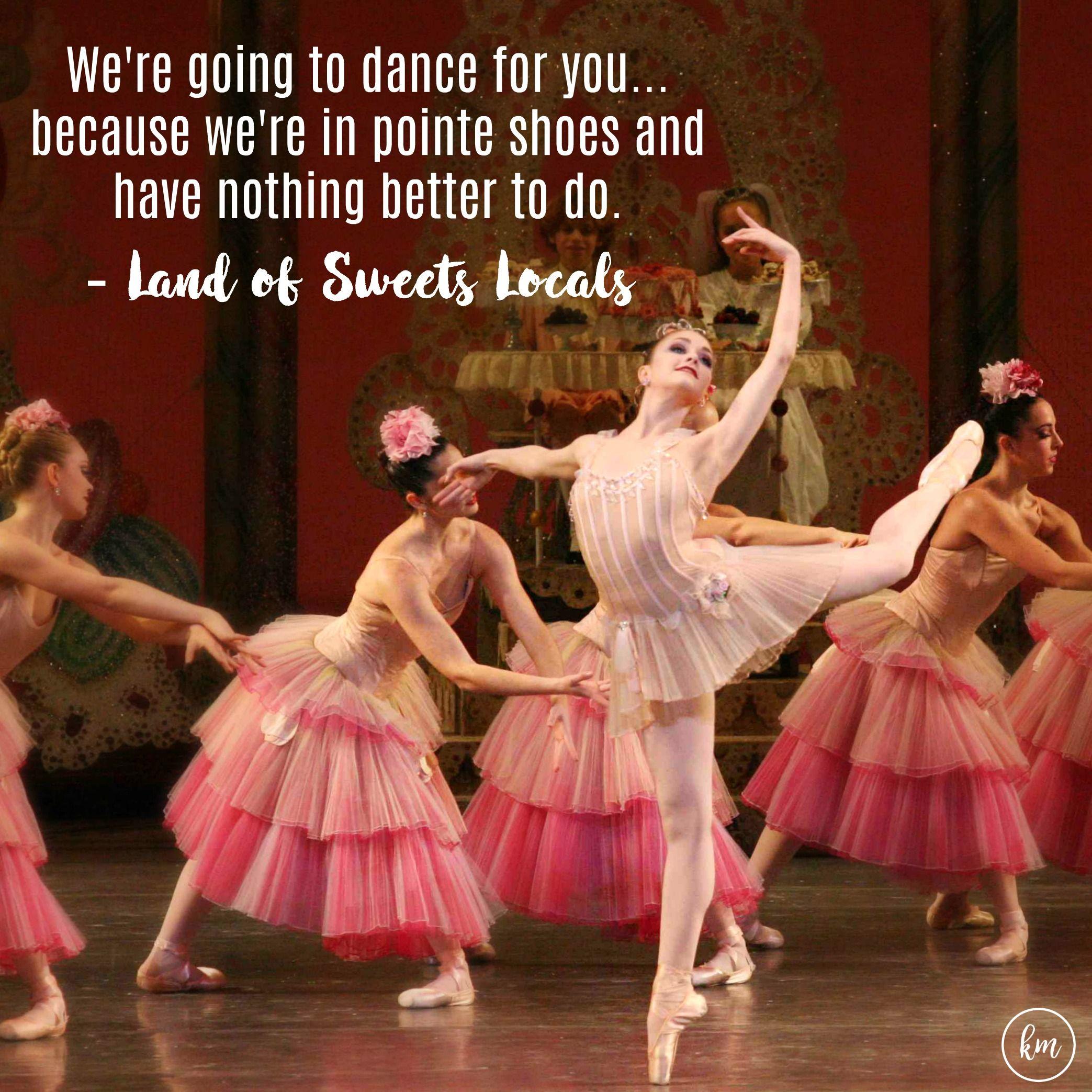 Kathryn Morgan As Dewdrop In The Nutcracker Ballet