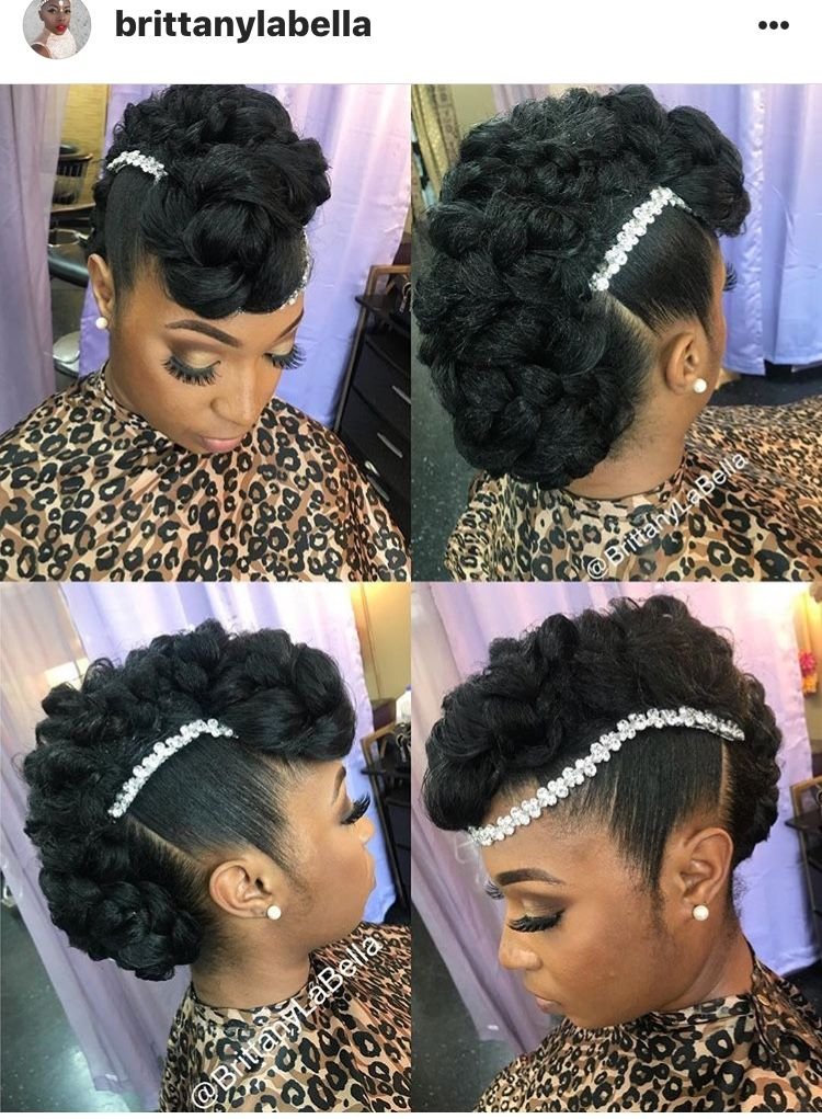 Wedded Bliss Hair Natural Afro Hairstyles Natural Hair Updo Natural Hair Wedding