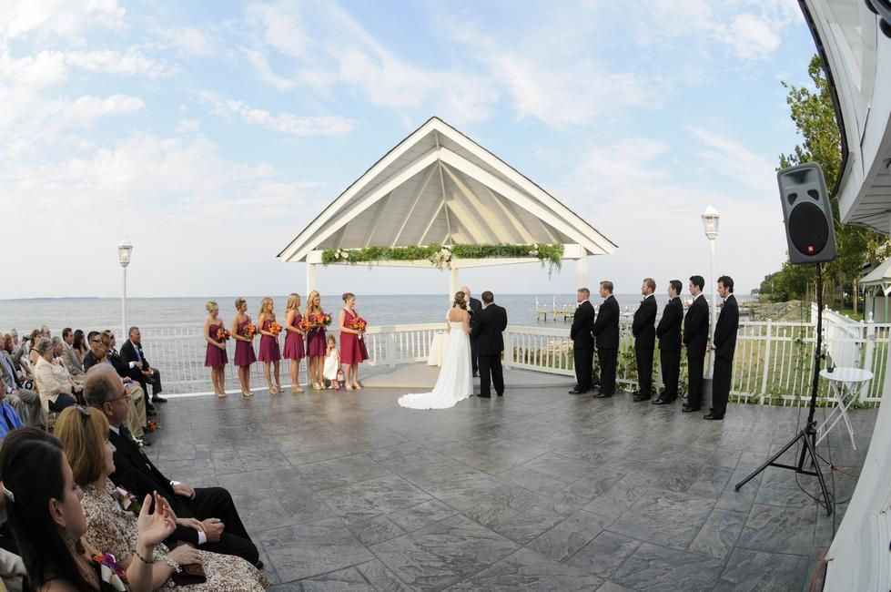 Waterfront Wedding Venue Maryland