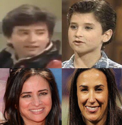 Pamela Adlon (Top and Bottom Left) had a few gender ...