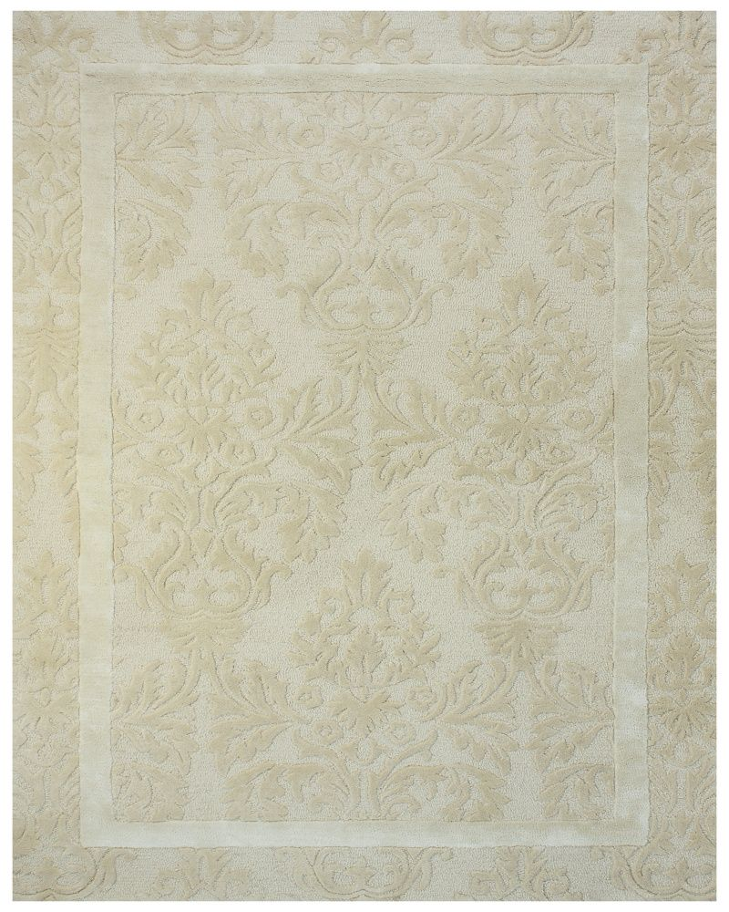 Rugstudio Presents Feizy Caprice 8025f Ivory Hand Tufted Best Quality Area Rug