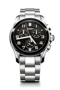 Pánske Hodinky Chrono Classic 241544 Swiss-made quartzový strojček ETA G10.211, Presnosť merania chronografu až 1/10 sekundy, priemer: ø 41 mm