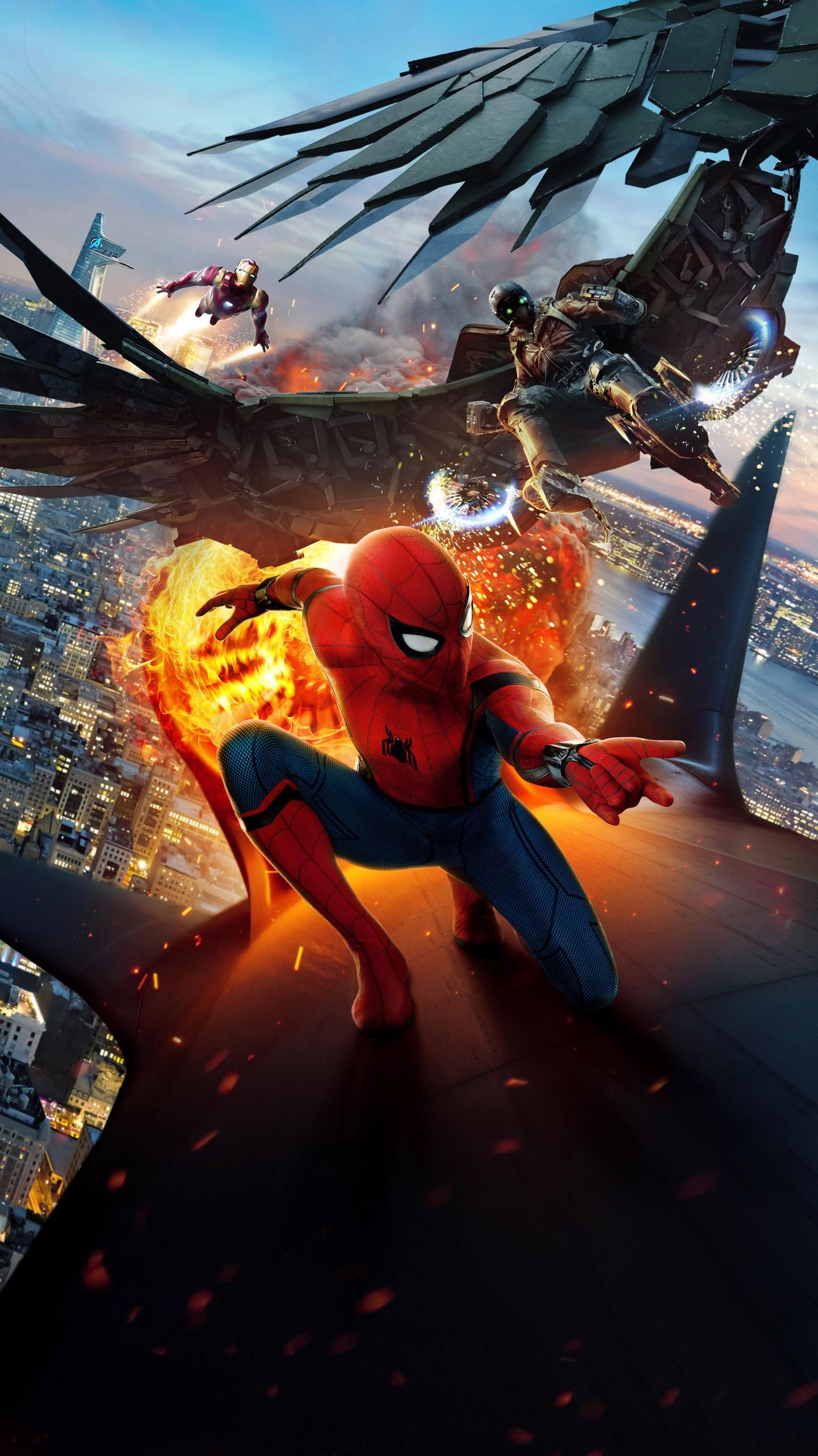 Spider Man Homecoming 2017 Phone Wallpaper