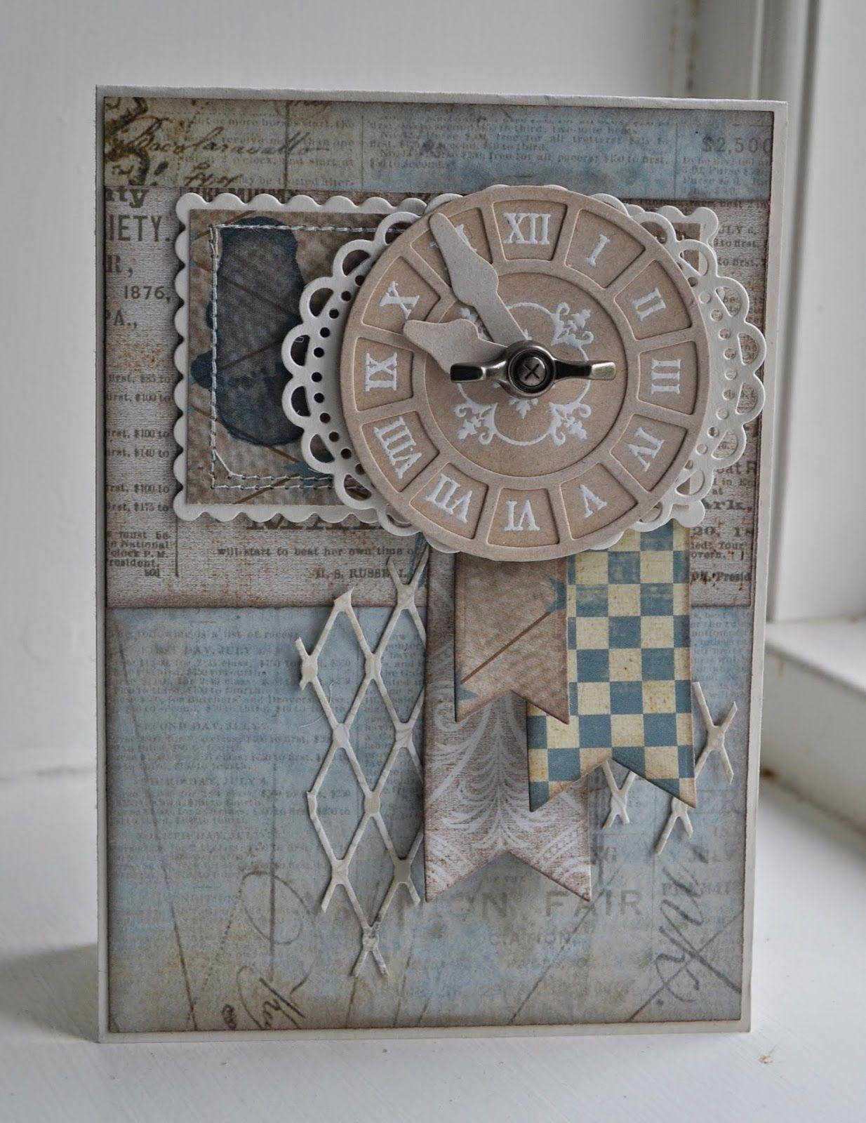 card MFT clock  Time pieces clockface Timeless stamp set MFT dienamics Time Pieces die set Riddersholm Design: Tailgate Markd *Kort* - Gitte blomsterbox fishnet cover up