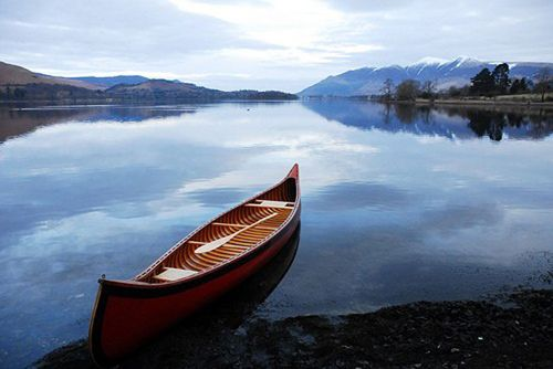 A Man Is Part Of His Canoe And Therefore All It Knows