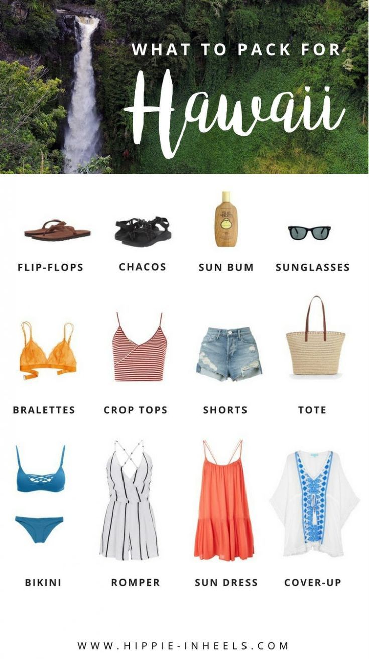 What to Pack for a Hawaii Vacation - Hippie In Heels