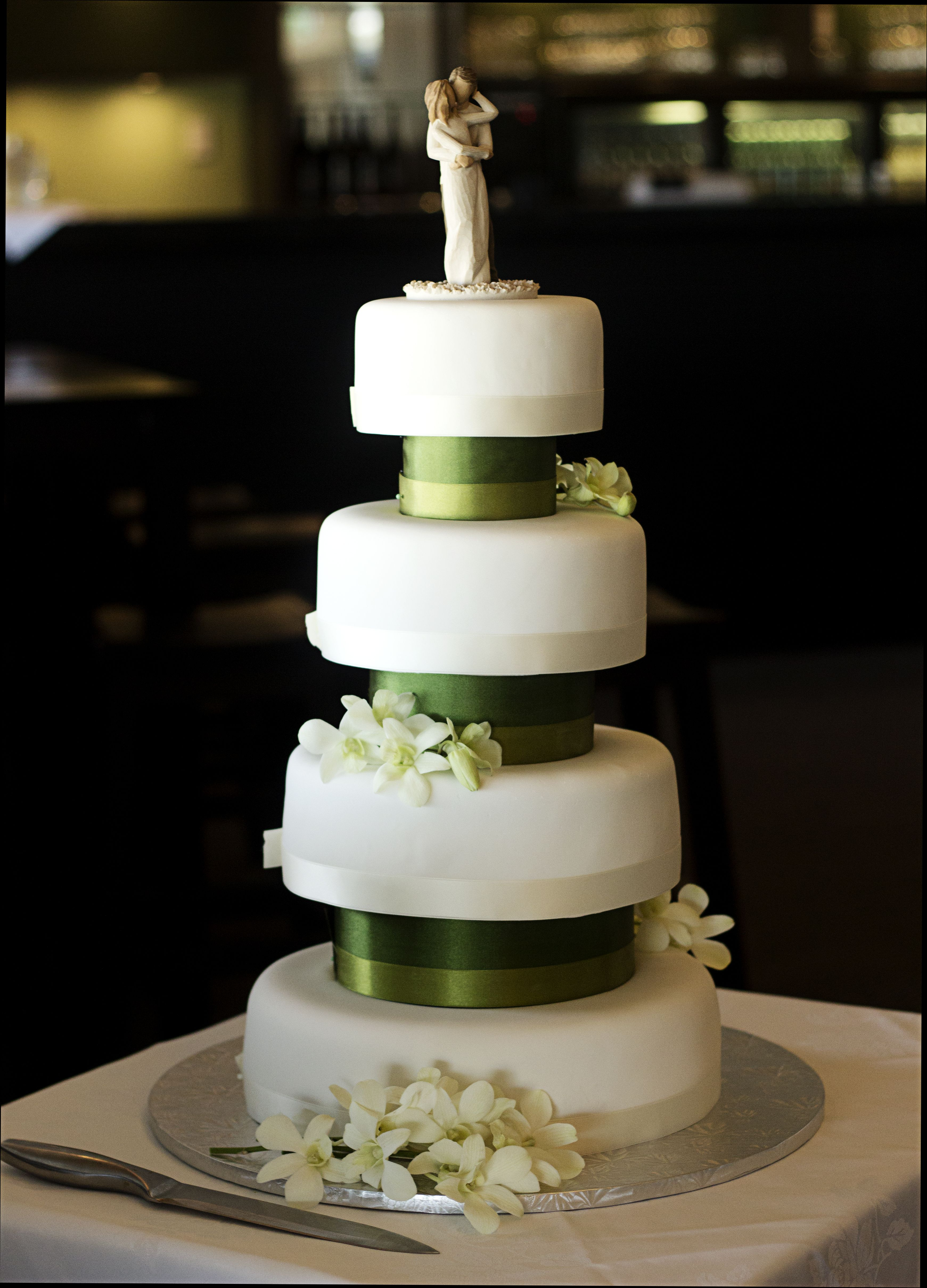 Decoration ideas for 50th wedding anniversary celebration  The wedding cake was made and decorated by the groom  Clear