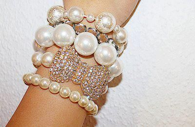 bow, diamonds, fashion, girly