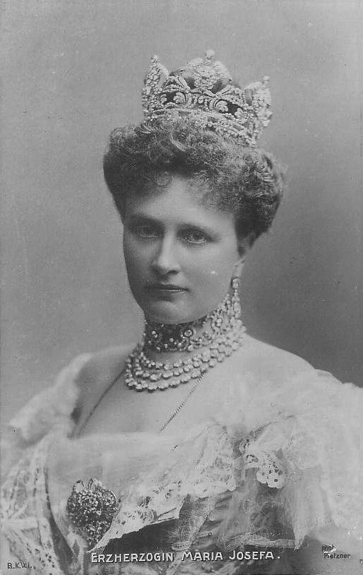 Archduchess Maria Josefa (Austrian royal family) in one of