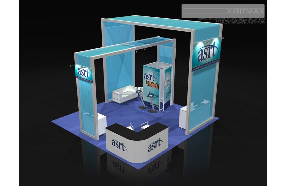 Exhibition Booth For Rental : Asrt trade show booth rental find more on xibitmax