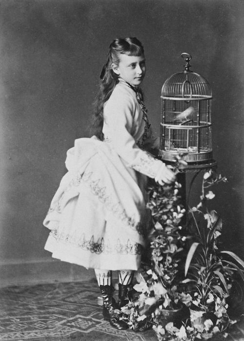 A young Grand Duchess Elizabeth Feodorovna when Princess Elisabeth of Hesse and by Rhine
