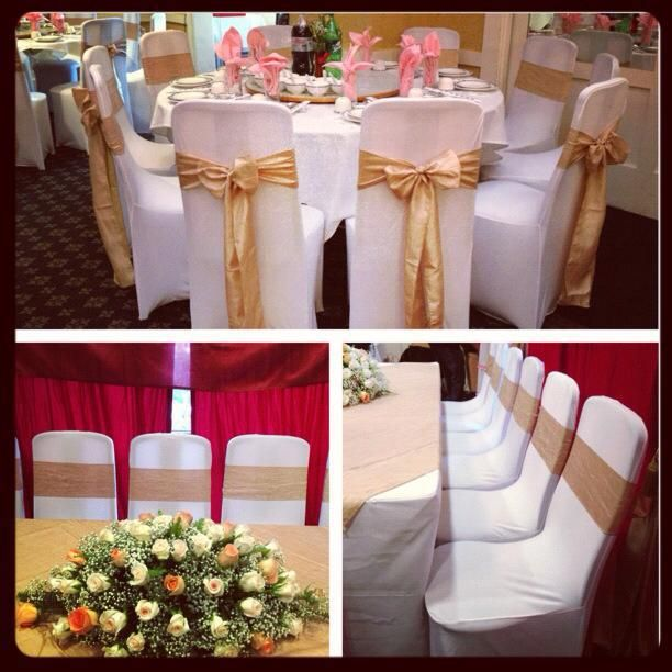 Our Most Popular Color Combination Our Champagne Crinkled Taffeta