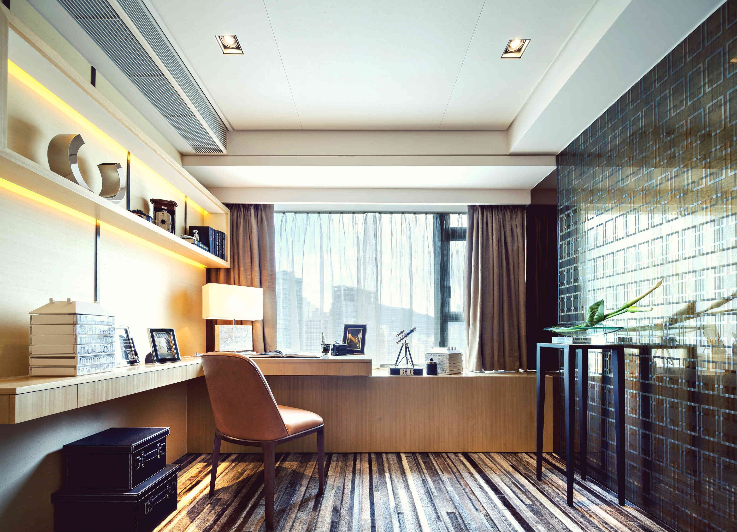 Study Room Design. Showflat, Serenade, Hong Kong RLP