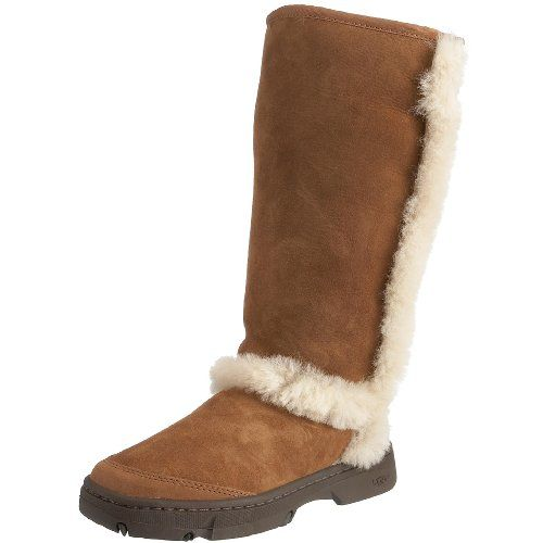 df7970d409e UGG Australia Womens Sunburst Tall Boots Chestnut 6 BM US >>> Learn ...