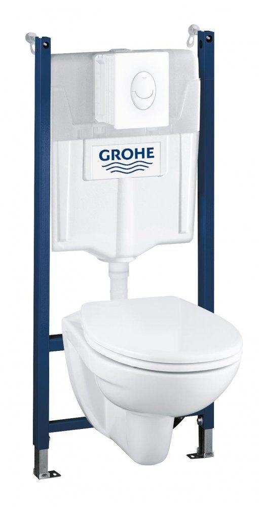 Grohe Solido Wc 4 Az Egyben Szett 39116000 Mall Hu Toilet Bathroom Grohe