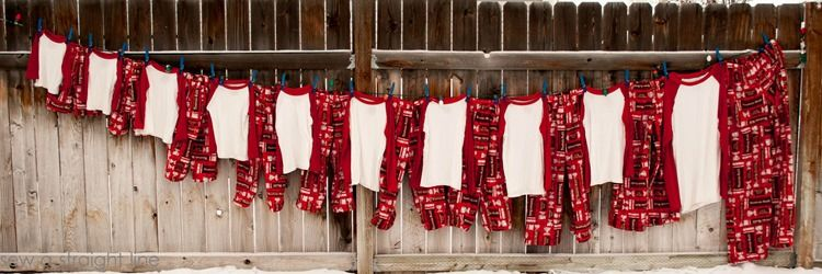 #fabulouslyfestive Christmas pajamas from @Sabra McKibbon Gubler