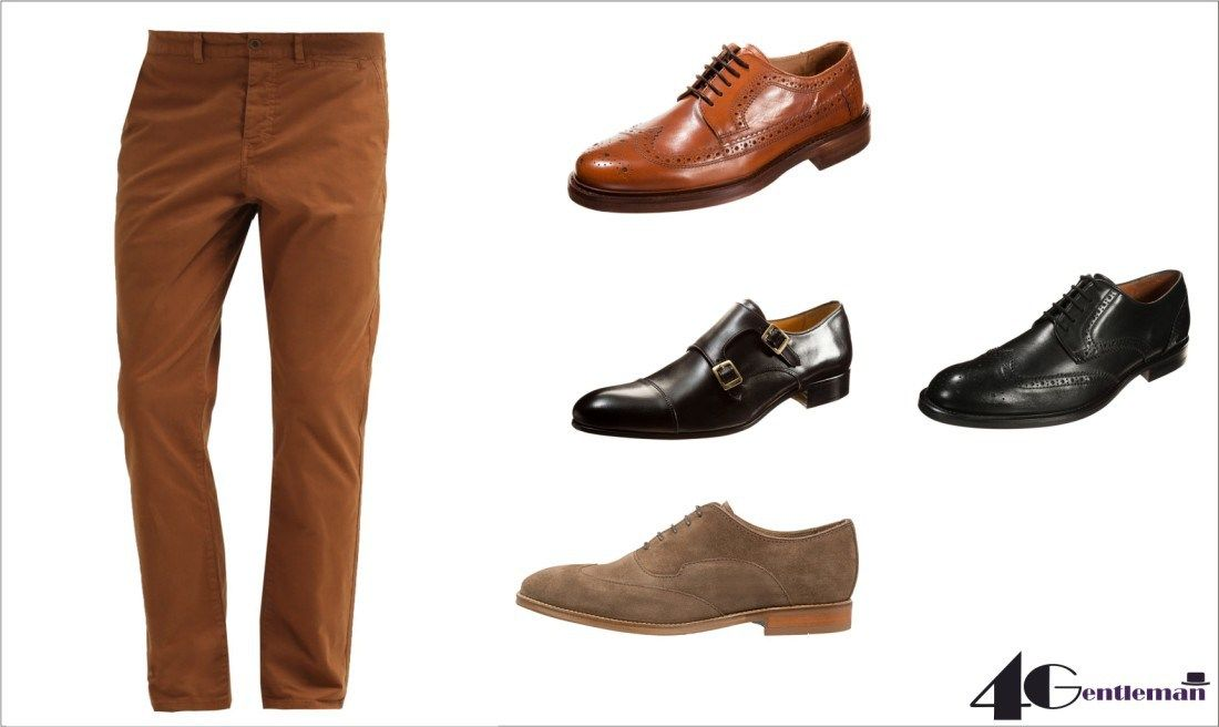 Brazowe Spodnie Dress Shoes Men Men Dress Dress Shoes