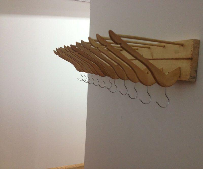 Kleiderhaken Selber Machen Kreative Diy Ideen Fur Die Flur Haus Dekoration Mehr Garderobe Holz Kreativ Selbstgebauter Kleiderstander